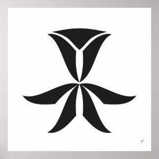 Deko-Tulpe, Plakat