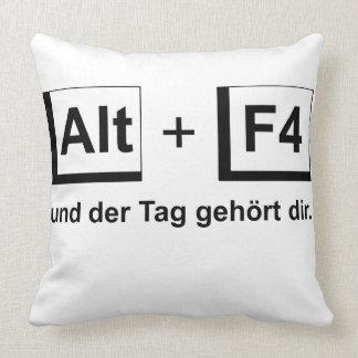 Dekokissen Alt+F4