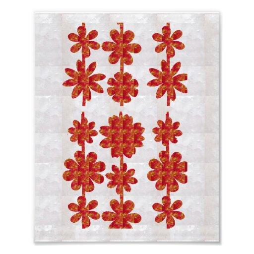 Dekorationen auf KODAK-Blume, die durch NAVIN Fotodrucke