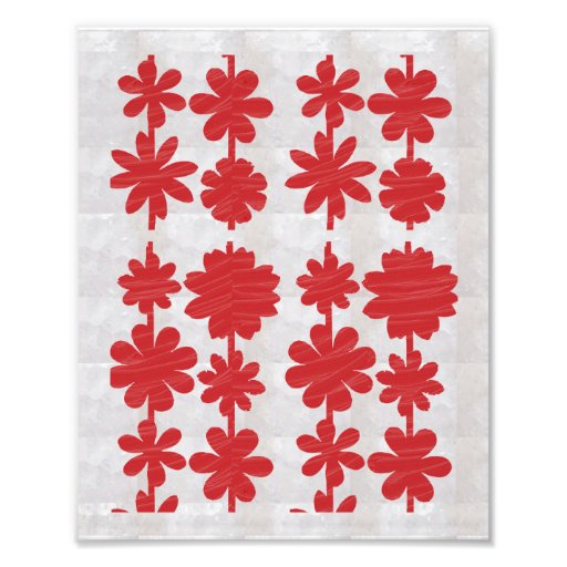 Dekorationen auf KODAK-Blume, die durch NAVIN Photo Drucke