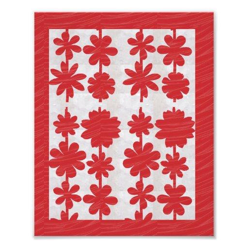 Dekorationen auf KODAK-Blume, die durch NAVIN Foto Druck
