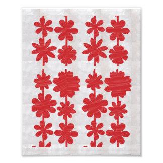 Dekorationen auf KODAK-Blume, die durch NAVIN Photo Druck
