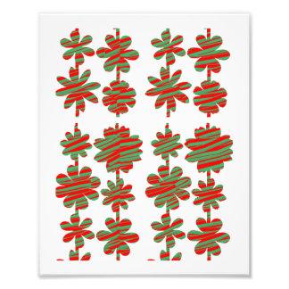Dekorationen auf KODAK-Blume, die durch NAVIN Photodrucke