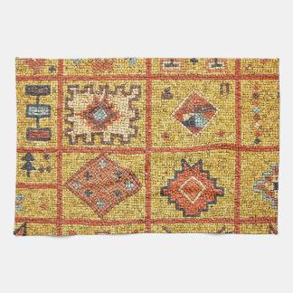 Dekorationsarchitektur-Marokko-Islam des Mosaiks Küchenhandtücher