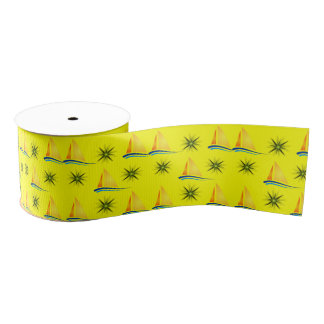 dekorative Band-Segelboote Ripsband