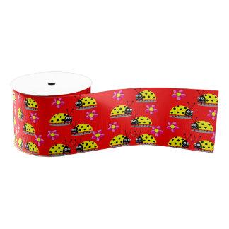 dekorative Bandkindermarienkäfer Ripsband