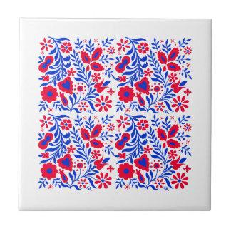 Dekorative Blumenentwurfs-Keramik-Fliese Keramikfliese