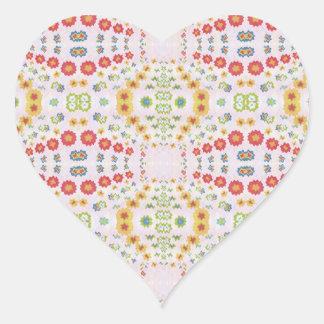 Dekorative DIAMANT Grafiken Herz-Aufkleber