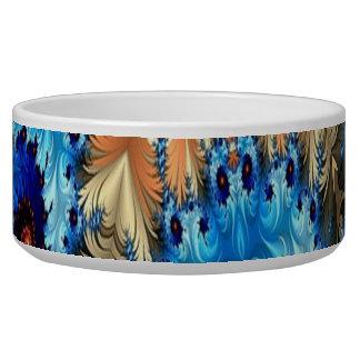 Dekorative Entwurfs-Haustier-Mehrfarbenschüssel Napf