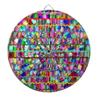 Dekorative Farben Dartscheibe