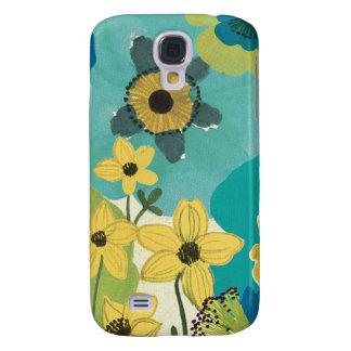 Dekorative Garten-Blumen Galaxy S4 Hülle