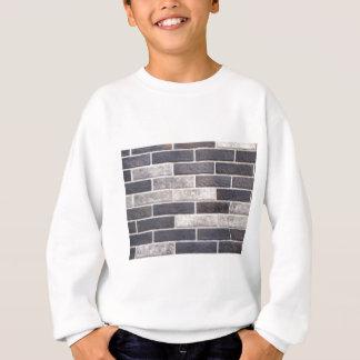 Dekorative Maurerarbeit der weißen und schwarzen Sweatshirt
