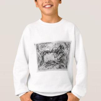 Dekorative Rahmen der Laune mitten in einer Wand Sweatshirt