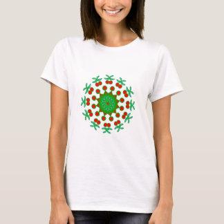 Dekorative rote und grüne Produkte T-Shirt