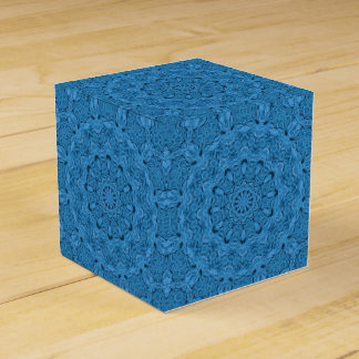 Dekorativer blauer Vintager Bevorzugungs-Kasten Geschenkschachtel