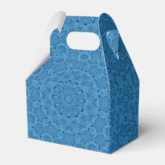 Dekorativer blauer Vintager Geschenkschachtel