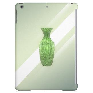 Dekorativer grüner Vase