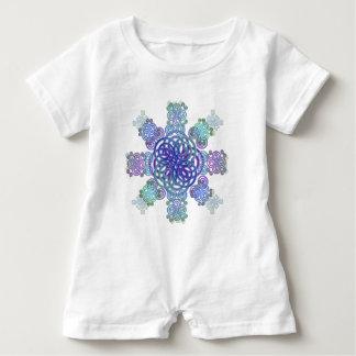 Dekorativer keltischer Entwurf Baby Strampler