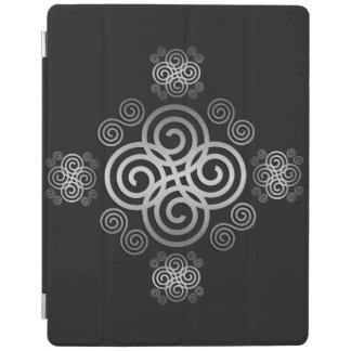 Dekorativer keltischer Entwurf iPad Hülle