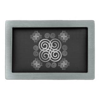 Dekorativer keltischer Entwurf Rechteckige Gürtelschnalle