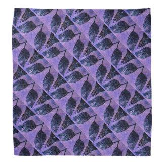 Dekoratives Blätter-Muster Kopftuch