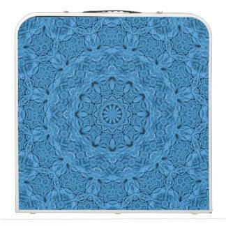 """Dekoratives blaues Kaleidoskop 48"""" Pong Tabelle Beer Pong Tisch"""