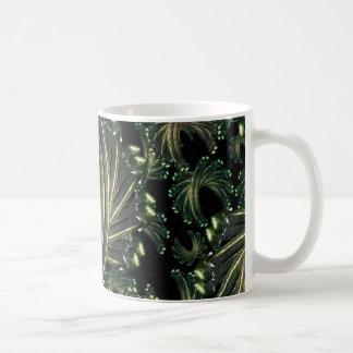 Dekoratives extravagantes Muster Kaffeetasse