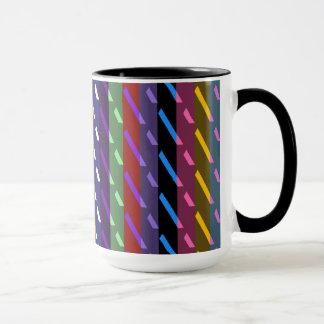 Dekoratives geometrisches Fliesen-Mosaik-Muster #4 Tasse