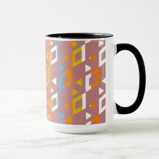 Dekoratives geometrisches Fliesen-Mosaik-Muster #6 Tasse