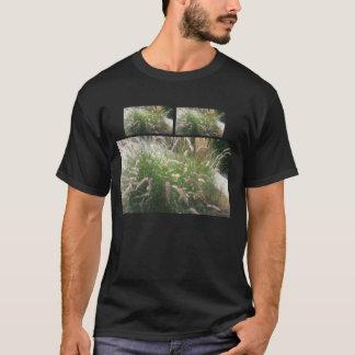 dekoratives Gras T-Shirt
