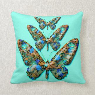 Dekoratives Kissen der tropischen Schmetterlinge