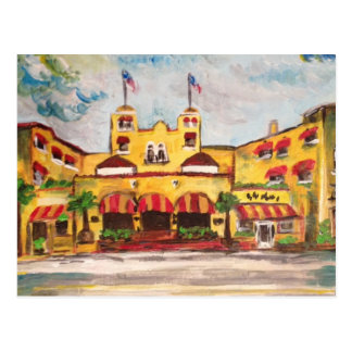 Del Ray Beach, Florida-Malereipostkarte Postkarte