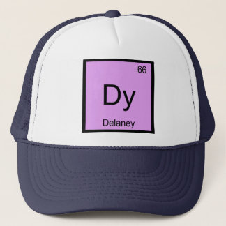 Delaney Namenschemie-Element-Periodensystem Truckerkappe