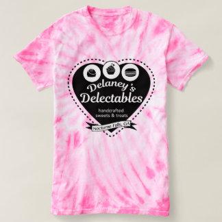 Delaneys Delectables Zuckerwatte-T-Stück T-shirt