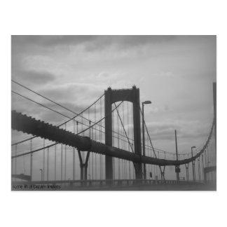 Delaware-Denkmal-Brücke Postkarte