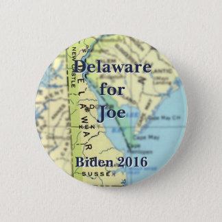 Delaware für Joe Biden - 2016 Runder Button 5,7 Cm