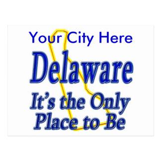 Delaware ist es der einzige Platz, zum zu sein Postkarte