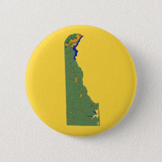 Delaware-Karten-Knopf Runder Button 5,1 Cm