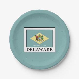 Delaware Pappteller