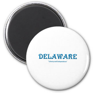 Delaware Runder Magnet 5,1 Cm