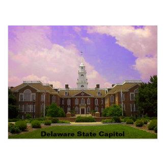 Delaware-Staats-Hauptstadt Postkarte