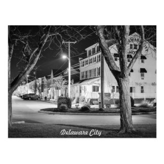 Delaware-Stadt Postkarte