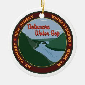 Delaware Water Gap Keramik Ornament