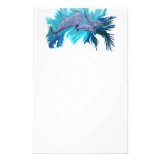 Delfin-Schule Büropapier Briefpapier