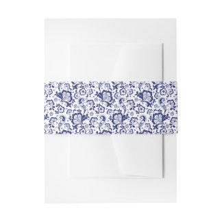 Delfts Blauw | Delft blaue niederländische Einladungsbanderole