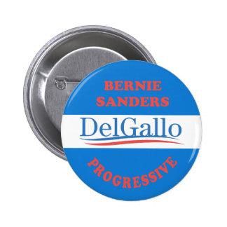 DelGallo Staats-Senat Runder Button 5,7 Cm