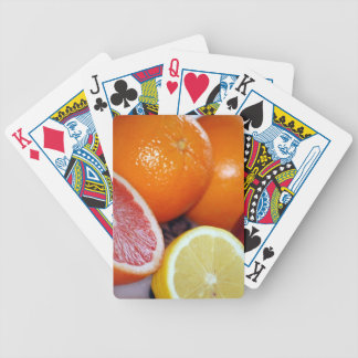 Delicious-fresh-fruits865 BUNTE ZITRUSFRÜCHTE O Bicycle Spielkarten