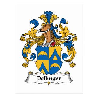 Dellinger Familienwappen Postkarte