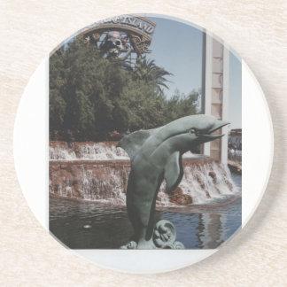 Delphin am Trugbild Untersetzer
