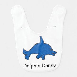 Delphin-Danny-Baby-Schellfisch Lätzchen